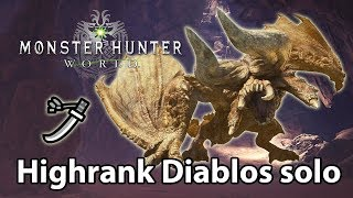 MHWorld | 7★ Diablos solo (Long Sword) - 3'19
