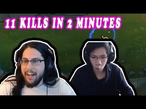 IMAQTPIE GOT INVADED LEVEL 1 *11 KILLS IN 2 MINUTES* | SHIPHTUR'S PLAY | LOL MOMENTS
