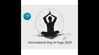 yoga drawing easy pencil international sketch