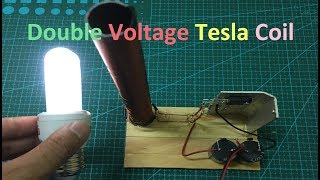 How To Make A Double Voltage Tesla Coil
