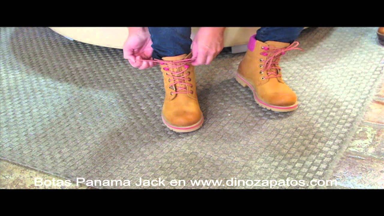 Bota Panama Jack amarilla en Dino Zapatos