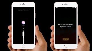 CZ-  Jak opravit iPhone zakázaný s nebo bez itunes.