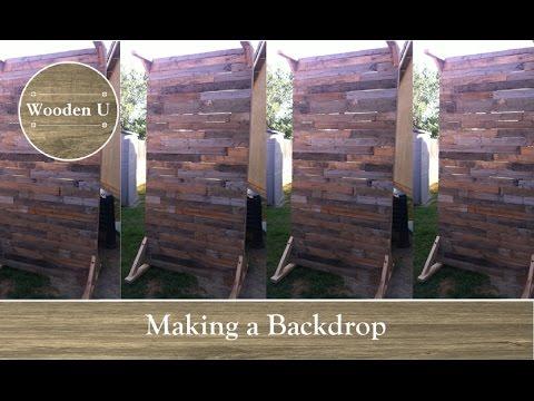 making-a-backdrop---wooden-u