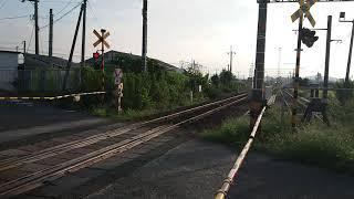キハ126系(山陰線普通列車2B)256D  箕踏切通過