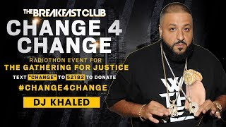 DJ Khaled & Asahd Donate $51K To The Gathering For Justice Movement