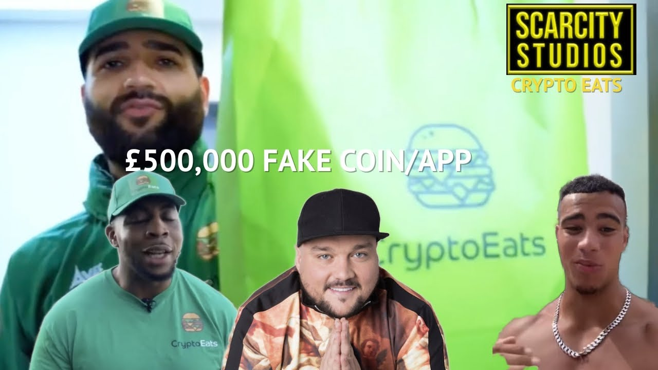 Download CryptoEatsUK steals £500,000 in a one day coin scam endorsed by Celebrities