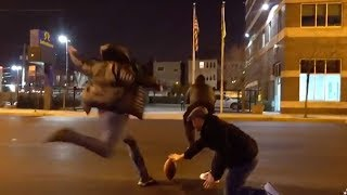 Bears Fans Recruit New Kicker In the Streets of Chicago