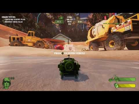 Sandbox Play Time (The Mean Greens: Plastic Warfare)