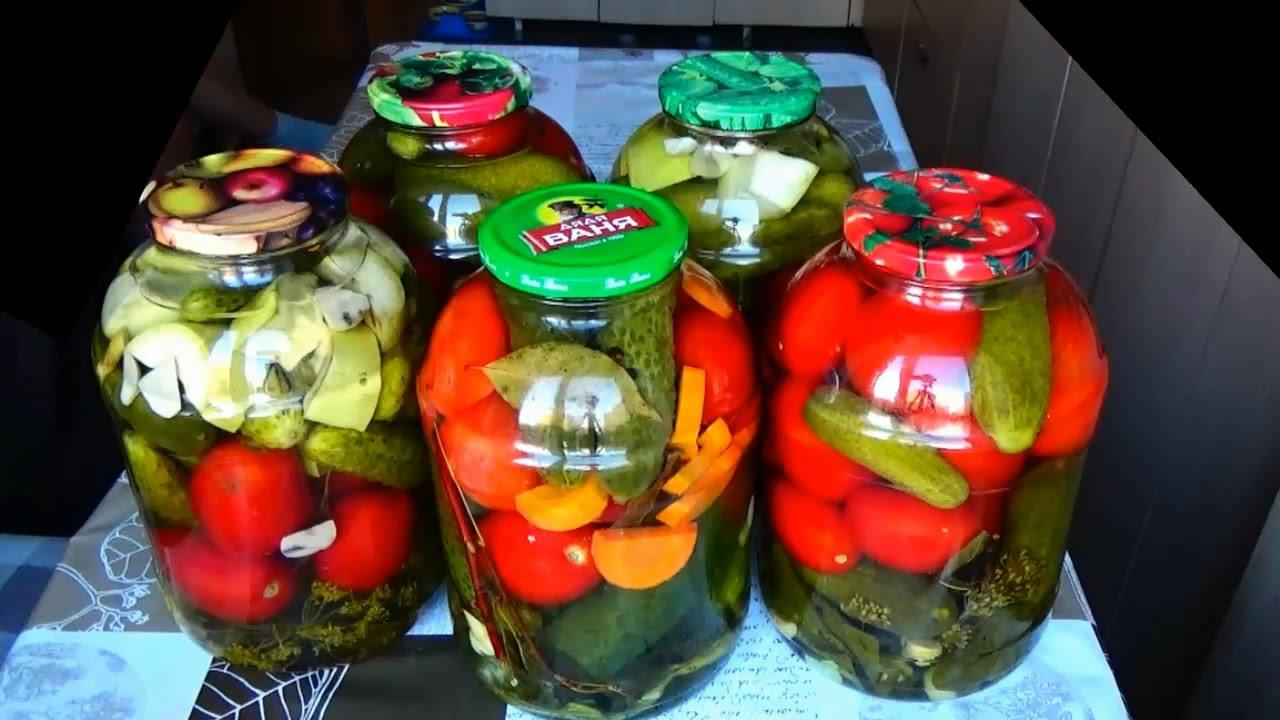 Как мариновать ассорти из огурцов и помидоров