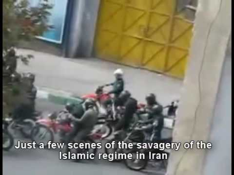 Just a few scenes of the savagery of the Islamic regime in Iran