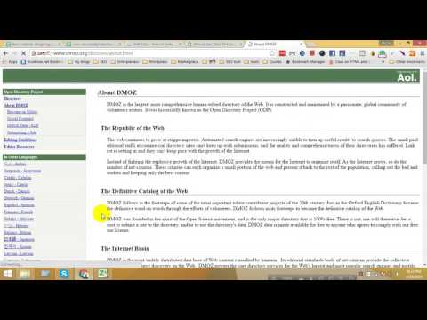 How to Get Backlink From web Directory