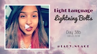 Light Language - Lady Nuage - Lightning Bolt #38b
