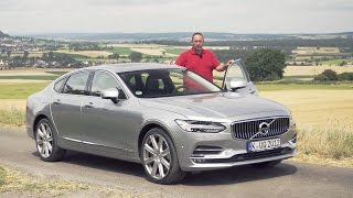 2017 Volvo S90 T5 review | Test Drive