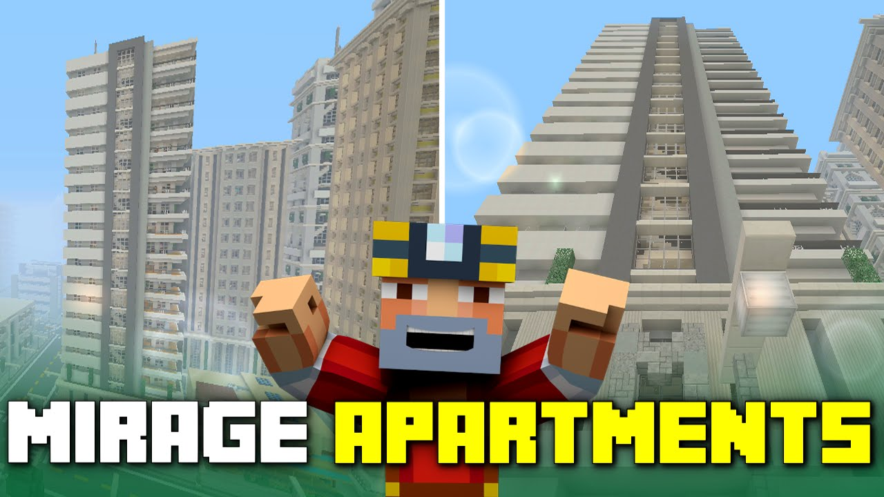 Minecraft Xbox One Mirage Apartment Building Tour Tours Of Los