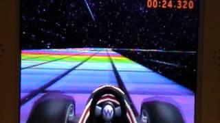 Mario Kart 7 - SNES Rainbow Road [01:13.861]