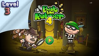 Bob The Robber 4 - Level 3   Walktrough   ios   All Levels   Best Android Games   Gameplay   Mobile screenshot 1