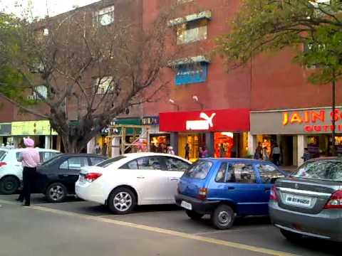 Market of Chandigarh, sector 17