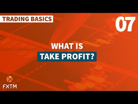 07 Take Profit - FXTM Trading Basics