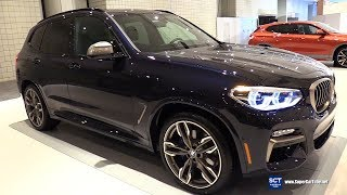 2018 BMW X3 M40i - Exterior and Interior Walkaround - 2018 New York Auto Show