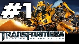 Transformers: Revenge of the Fallen Walkthrough Part 1 - The Beginning (Gameplay Commentary)