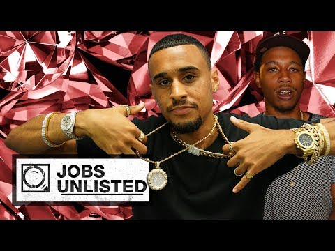 Post Malone's Jeweler Shows How To Make Jewelry For Cousin Stizz | Jobs Unlisted