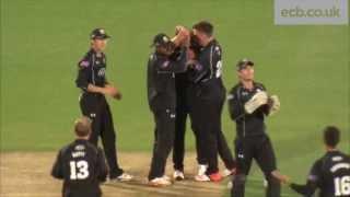 Matt Coles hits 100 off 73 balls - Surrey v Kent Spitfires Royal London One-Day Cup QF