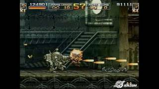 Metal Slug 4 & 5 PlayStation 2 Gameplay - Metal Slug