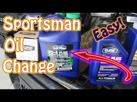 How to Perform an Oil Change on a Polaris Sportsman ATV - 2003 Sportsman 500 H.O.