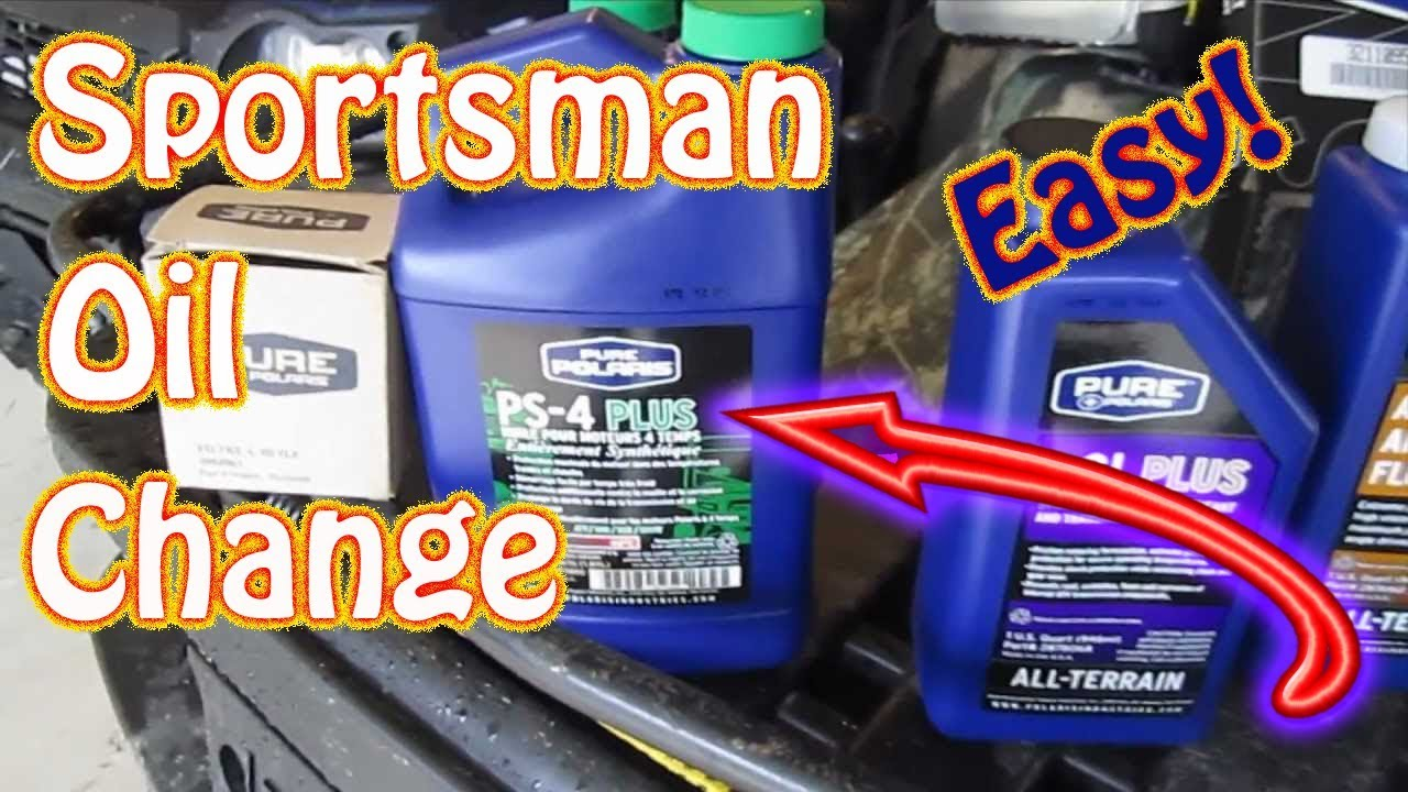 How To Perform An Oil Change On A Polaris Sportsman Atv
