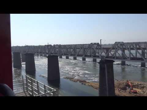 12214 Duronto Express Crossing the Narmada River
