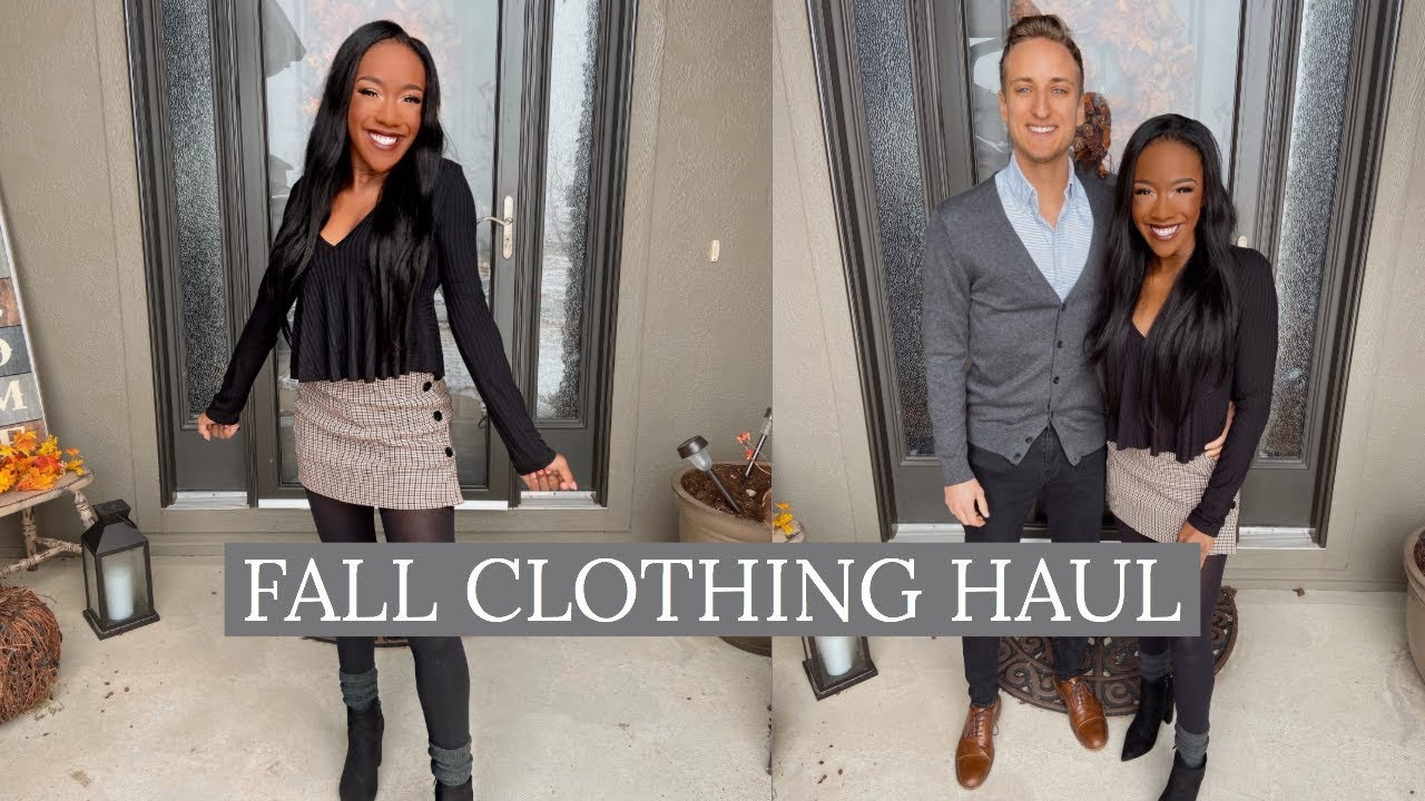 [VIDEO] - FIANCE PICKS MY FALL OUTFITS | Bralyn Beauty 2