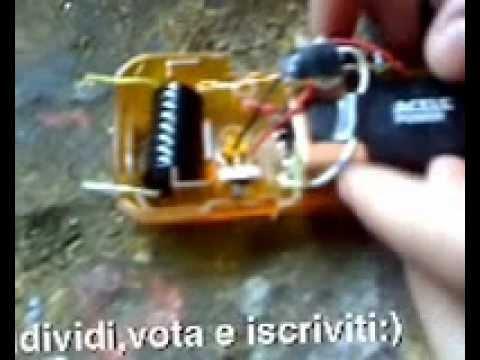 Schema Elettrico Taser : Storditore elettrico versione comica ☆ fai da te ☆ youtube