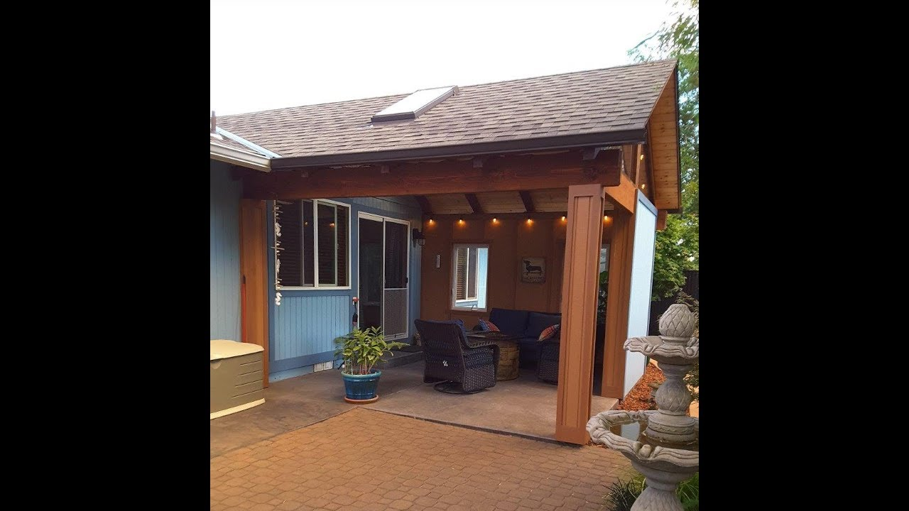 A Partially Enclosed Patio for the Northwest (Oregon ...