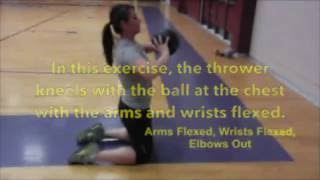 Medicine Ball Drills for Throwing Events