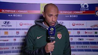 La réaction de Thierry Henry