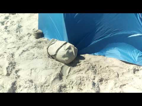 Sport Brella XL beach umbrella setup and review