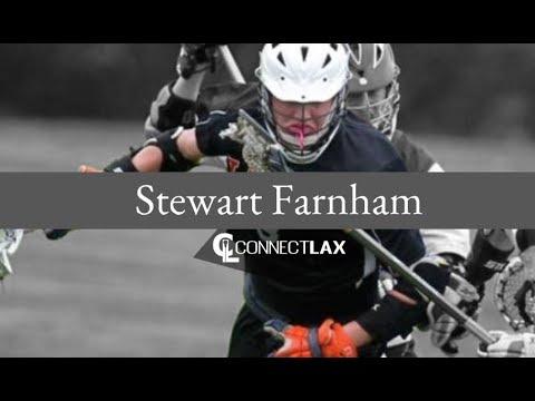 Stewart Farnham Lacrosse Highlights | RI 2020 | Mid