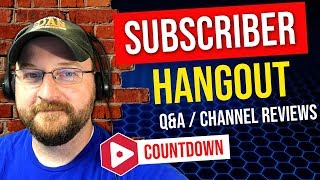 COUNTDOWN TO VIDSUMMIT! | CF LIVE! | SUBSCRIBER HANGOUT