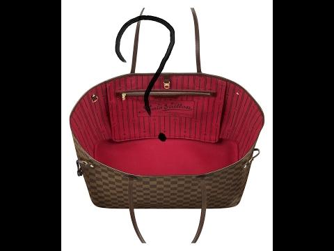 Что в моей сукме Neverfull от Louis Vuitton? Сколько стоит сумка от Louis Vuitton?