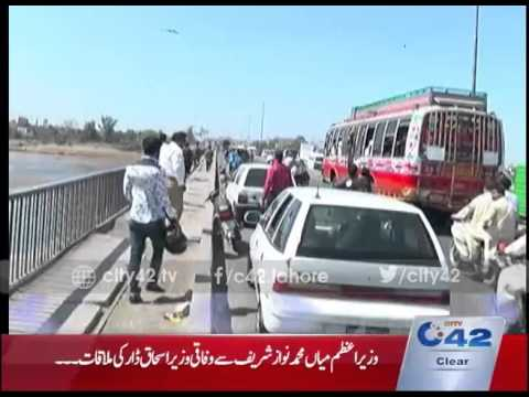 42 Report: Ravi Town administration in action on Ravi bridge