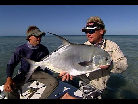 Fly Fishing for Permit on the Marquesas Islands Flats in Key West Florida