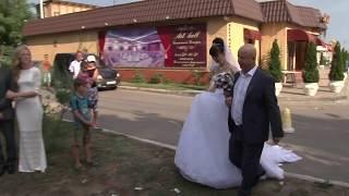 выездная церемония одесса  александр и мария_выход невесты_признание папе