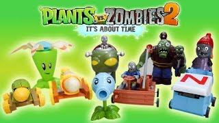 Plants vs Zombies 2 Toys Action Figure ft. Dr. Zomboss, Gargantuar, Bloomerang, Cob Cannon and more