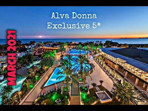 Отдых в Alva Donna Exclusive Hotel \u0026 SPA BELEK /Турция МАРТ 2021