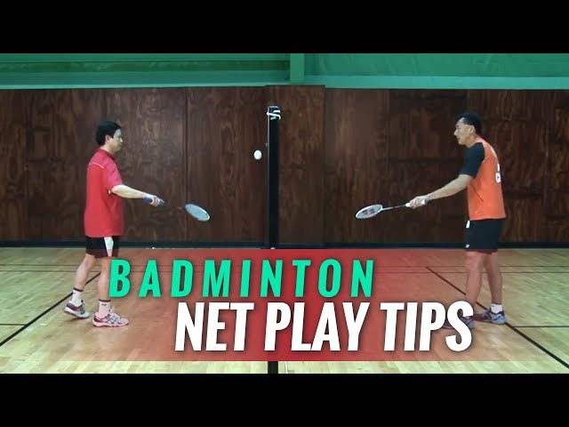 Badminton Tips - Net Play - Coach Andy Chong