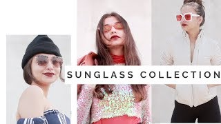 10 SUNGLASSES IN 1 MINUTE | Sunglass collection | Day 18SHEIN, FOREVER 21 \Tejaswi