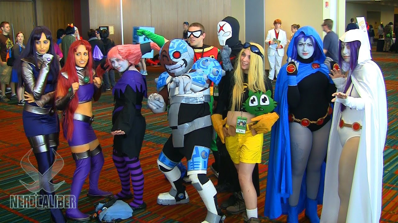 Teen Titans Cosplayers At Connecticon 2013 Youtube