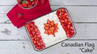 Canadian Flag Cake recipe