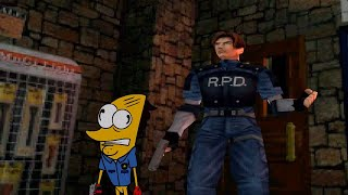 Taco-Man Plays Resident Evil 2 - Leon's Story (PS1) #61