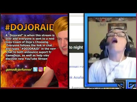 RAIDS *someone gets really happy on live stream